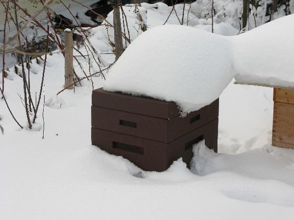 Frankenburger Beute in Schnee